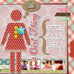 #papercraft #scrapbook #layout scrapbook layout