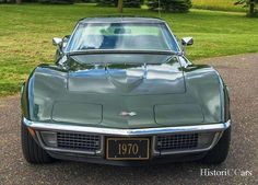 HistoriC Cars - Prodej Corvette Stingray 1970 - MANUAL