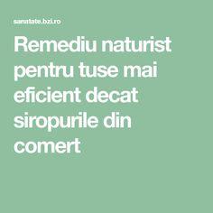 Remediu naturist pentru tuse mai eficient decat siropurile din comert Alter
