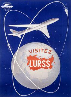 USSR Travel Poster