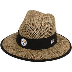 New Era Pittsburgh Steelers Training Straw Hat 92440d70ced6