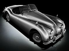 """1953–54 Jaguar XK120 Drophead Coupe ♥✮✮""""Feel free to share on Pinterest"""" ♥ღ www.UNOCOLLECTIBLES.COM"""