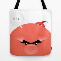ANIMALS | PORK Tote Bag by 7535C - $22.00