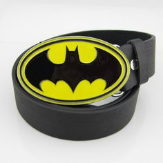 New Cowboy Western SuperHero Batman Mens Metal Belt Buckle leather Costume Gift Superhero Man, Black Batman, Metal Belt, Leather Gifts, Artificial Leather, Western Cowboy, Yellow Black, Belt Buckles, Ebay
