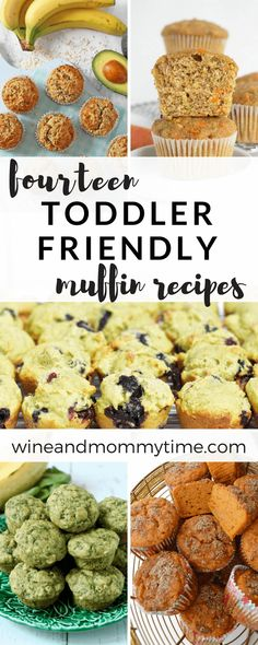 14 Toddler Muffin Recipes