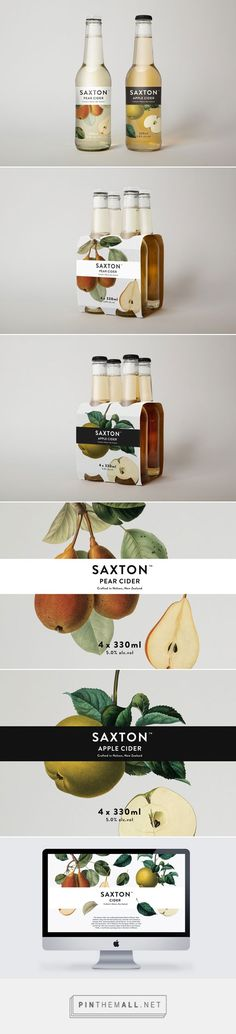 Supply: Saxton Packaging | Design Work Life - created via http://pinthemall.net