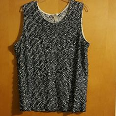 Woman's nice tank top Woman's tank top, no holes or tears, comes from a smoke/pet free home. CJ banks Tops Tank Tops