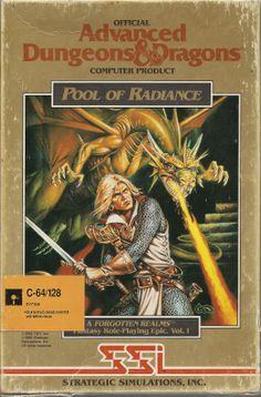 Pool of Radiance Amiga box cover art - MobyGames Classic Video Games, Retro Video Games, Video Game Art, Retro Games, Deutsche Girls, Arcade, Advanced Dungeons And Dragons, Spiegel Online, Adventure Games
