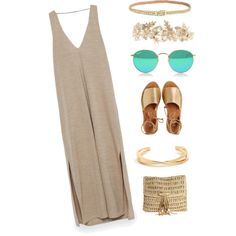 Ancient Greece by carolinamizan on Polyvore featuring polyvore, fashion, style, Zara, Kaanas, Skemo, Rosantica and Lilly Pulitzer