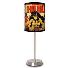 She Hulk Cover Lamp design inspiration on Fab.