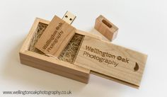 Lovely USB Gift set for one of our wedding photographers. Image courtesy of the photographer, sticks and boxes from USB2U ;-)