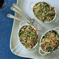Green Bean-Goat Cheese Gratin Recipe | MyRecipes.com