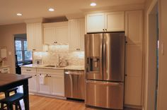 These are KraftMaid Kitchen cabinets