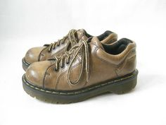 Vintage Doc Marten Made in England Chunky by TimeBombVintage