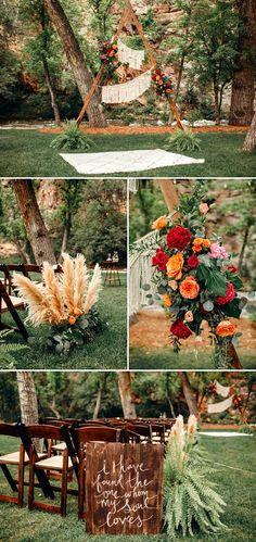 Boho details galore! | Image by Shannon Lee Miller #bohowedding #bohemianweddinginspiration #ceremony #weddingceremony #ceremonydecor #weddingceremonydecor #finishingtouches #gardenwedding #floraldesign