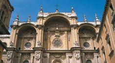 Façade of Granada cathedral © Turespaña