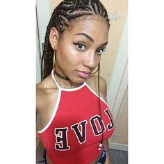 Alicia keys hair style