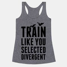 Ehm you don't select being divergent...! But cool shirt nevertheless...