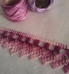 Photo: Work nº 22 - Dish cloth with crochet hook. Crochet Boarders, Crochet Edging Patterns, Crochet Lace Edging, Thread Crochet, Crochet Trim, Crochet Designs, Crochet Doilies, Crochet Flowers, Love Crochet