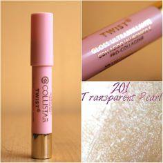 #collistar #lips #lipstick #red #pink #highcosmetics #kamzakrasou #test #beuty #newCollistar - lesk na pery 201 Transparent Pearl - KAMzaKRÁSOU.sk