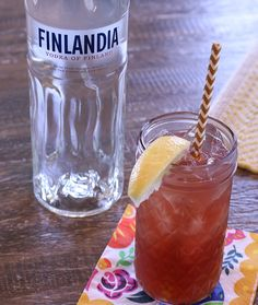 Chambord Vodka Lemonade  INGREDIENTS 1-1/2 oz Finlandia® Classic 1/2 oz Chambord® Liqueur 3 oz Lemonade  HOW TO MAKE IT Combine all ingredients in a shaker with ice, shake and pour into tall glass. Garnish with a lemon wedge.