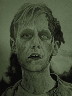 Victor from the movie Pet Sematary drawing