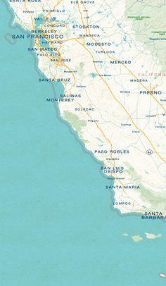 Napa Valley Map California Dreaming Pinterest Napa Valley Map - Map of napa hotels