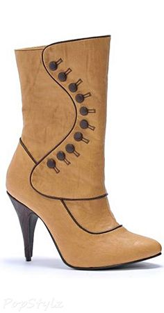 Ellie Shoes Ruth Victorian Adult Boots
