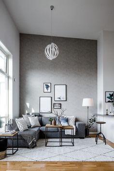 cool 35 Inspiring Scandinavian Living Room Design https://homedecort ...
