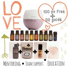 """LOVE BUG DEAL First promo of the month!!! (I NOW HAVE ONLY 4 PROMOS LEFT)!!!Since Valentines Day is coming soon I thought I'd do some """"love"""" inspired promos to give you!  If you have been wanting oils you get one last chance to enroll and get 100 points ($100 free) BEST PROMOTION ALL YEAR! 100 pv FREE! So much love back to you for taking a step towards healthier living!  THIS KIT COMES WITH: Top 10 Oils Petal Diffuser 4 oz Fractionated Coconut Oil  Aphrodite bath soak ( so yummy treat yo…"""