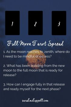 Simple Tarot Spread for the Full Moon in Scorpio - Sarah M. Chappell Simple Tarot Spread for the Full Moon in Scorpio — Heal Yourself