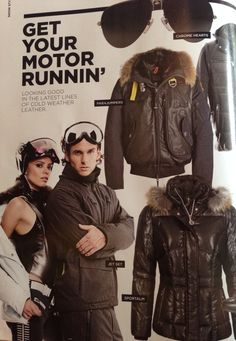 SNOW Magazine and  jetset feature Osbe USA in  editorial  frontofbook love  it. Ski WearWinter ... 94bd79592