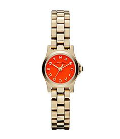 Marc By Marc Jacobs Ladies Henry Dinky Orange Bracelet Watch #Dillards