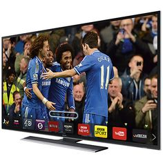 """Buy Samsung UE55HU6900 4K Ultra HD Smart TV, 55"""" with Freeview HD and Freesat HD Online at johnlewis.com"""