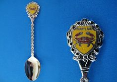 Souvenir Spoons From Different States | Maryland State Souvenir Collector Spoon Red Lobster Collectible