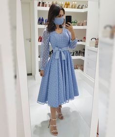 Skirt Outfits Modest, Dressy Dresses, Modest Dresses, Simple Outfits, Dress Outfits, Short Dresses, Girls Fashion Clothes, Fashion Dresses, Afghani Clothes