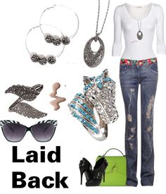 """""""Laid Back"""" by carolynsbling on Polyvore"""