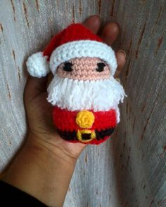 #crochet #amigurumi #pattern #christmas #santaclaus #beard #red by darkmoon20166