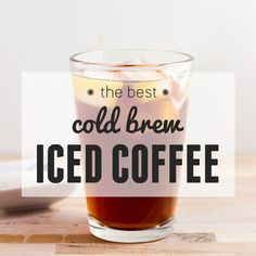 What's so great about cold brew anyways? Why would someone wait overnight for a cup of coffee? Well, let's see if these facts convince you: