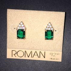 Roman Pierced earrings. Roman Pierced earrings. Super cute. Never worn. Roman Jewelry Earrings