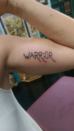 Read this blog!  Inside arm tattoo, self harming, suicide, depression, bipolar, semicolon project