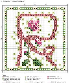 alfabeto country naif R