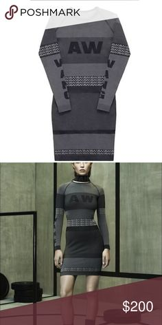 Alexander wang X h&m Alexander wang X h&m Worn once .. Great condition Alexander Wang Dresses Long Sleeve