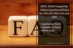 Delhi University Previous Year Question Paper  DU Sample  Model     GATE Frequently Asked Questions  FAQ   ECE  CSE  EEE  Mech