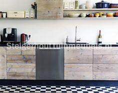 Steigerhout keuken