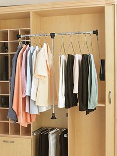 23 Best Pull Down Closet Rod Images Walking Closet