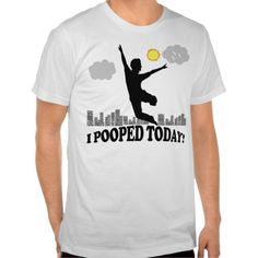 $$$ This is great for          I Pooped Today Shirt           I Pooped Today Shirt you will get best price offer lowest prices or diccount couponeDeals          I Pooped Today Shirt Here a great deal...Cleck Hot Deals >>> http://www.zazzle.com/i_pooped_today_shirt-235994588207553100?rf=238627982471231924&zbar=1&tc=terrest
