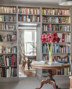 Literacy is everything. So is this library. Readers are leaders, y'all. In a world full of Kardashians and Miley Cyrus, be a bookworm. No, reallly... be a bookworm, please. I can't take any more Miley or Kim. #interiordesign #library #readersareleaders #bookwormsarecool #ifeelverysorryforbillyraycyrus #workingonimprovingthenextgenerationofgirls