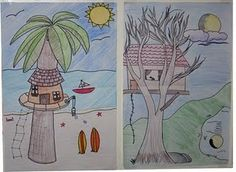 4th grade tree houses