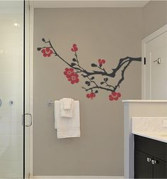 Custom Vinyl Lettering Designs By DelicateExpressions On Etsy - Custom vinyl wall decals for bathroom